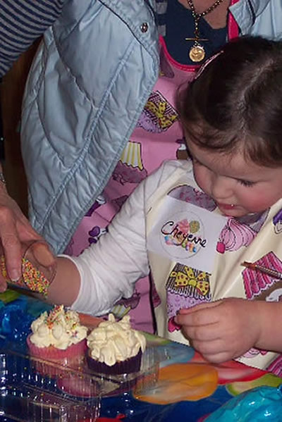 Cupcake Decorating parties from Heavenly Cupcakes of County Armagh